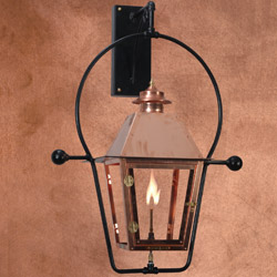 Wall Mount Propane Lamp : Outdoor Gas Lights Citizens Gas Utility District